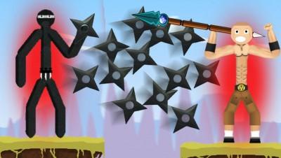NEW Stick Fight .IO VERSION! (INTENSE BATTLE) (BattleStick.net Gameplay)