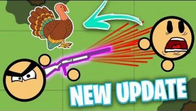 *NEW* TURKEY SHOTGUN UPDATE IN SURVIV.IO! (Surviv io Update)