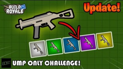 NEW! UMP ONLY Challenge! || Build Royale.io