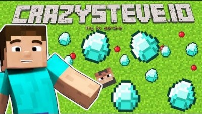 *NEW UPDATE* CRAZYSTEVE.IO IS THE NEW MINECRAFT 2.0 - MINECRAFT.IO