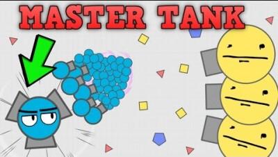 NEW UPDATE!!! MASTER TANK SPAWNS BABY TANKS! Diep.io New Update Master Class Tank! (Diep.io)