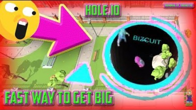 NEW UPDATED IO GAME: HOLE.IO [WORLD RECORD GAMEPLAY] BEST STRATEGY TO GET BIG + FUNNY SFX MOMENTS!!!