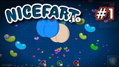 NiceFart.io - UM JOGO DIFERENTE - Gameplay #1