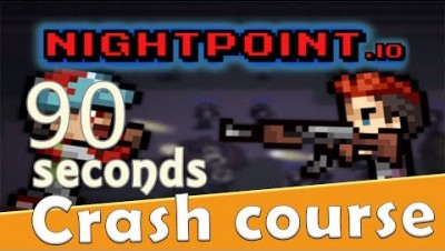 NIGHTPOINT.io  in 90 seconds! ( Tip & Tricks included ) | #Random.io Crash Course 40 |Nightpointio