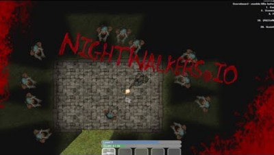 NightWalker.io New Scary IO Game With Zombies ? | NightWalker.io Gameplay