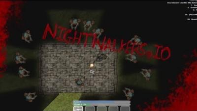 NightWalker.io New Scary IO Game With Zombies ? | NightWalker.io Gameplay
