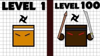 Ninjar.io // Max Level Ninja Evolution // How To Play ?