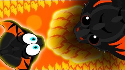 NOOB BLACK DRAGON vs. PRO KING BLACK DRAGON! | EPIC BLACK DRAGON 1v1 | Mope.io Funny Moments