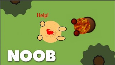 NOOB PLAY SURVIV.IO FOR THE FIRST TIME - Noobs and funny moments in Surviv.io