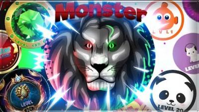 NOOB turns into a MONSTER   agma.io HACKER + 500 BOTS DESTRUCTION