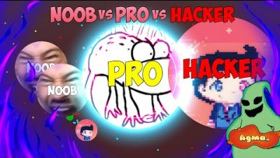 Noob VS Pro VS Hacker in AGMA.IO | AGMA EDITION