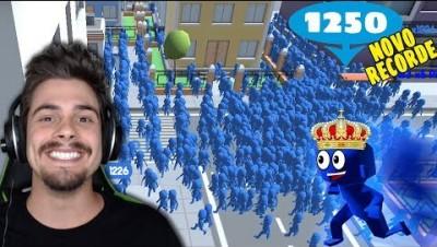 Novo Crowd City - DOMINEI A POPULAÇÃO DO NOVO MUNDO (MEU RECORDE) ‹ AbooT ›