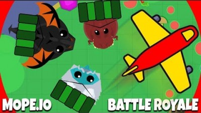NOVO MODO BATTLE ROYALE - Mope.io