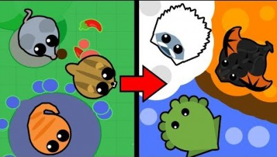 NOVO TEAM MODE - Mope.io