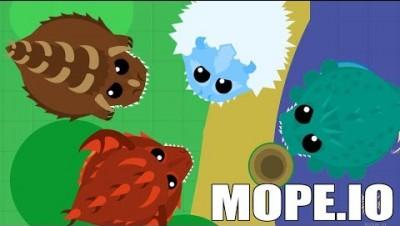 NOVOS MONSTROS GIGANTES - Mope.io
