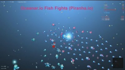 Oceanar.io Fish Fights (Piranha.io)
