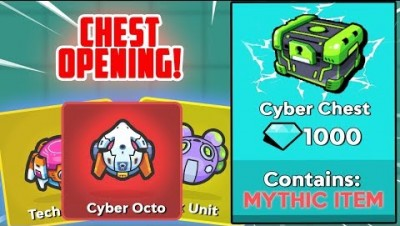 OPENING The MOST EXPENSIVE CYBER CHEST! | ZombsRoyale.io Season 8