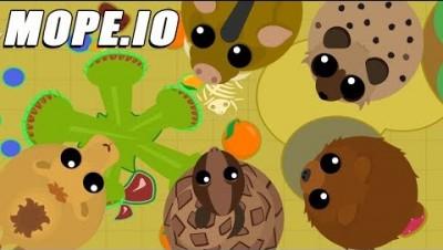 OS NOVOS ANIMAIS DO DESERTO - Mope.io