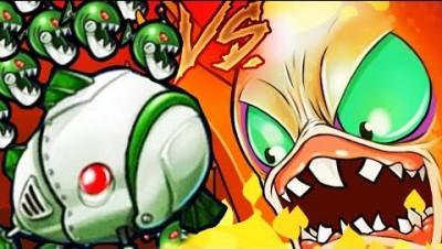 OVERPOWERED MECHANICAL FISH vs GIANT MUTANT KRAKEN! (BOSS CHALLENGE) l Octogeddon Gameplay
