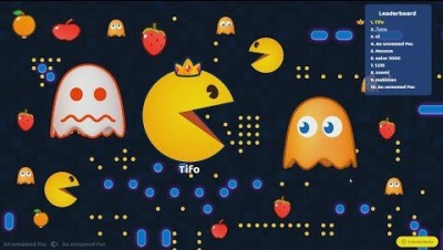 Pac-man.io Big PacMAn Vs Small