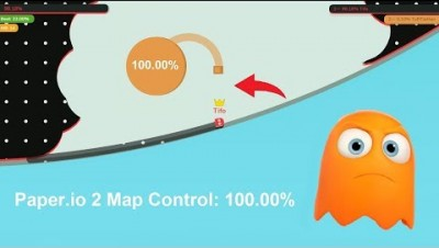 Paper.io 2 Map Control: 100.00% [Battle]