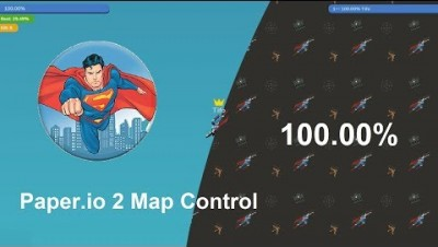 Paper.io 2 Map Control: 100.00% [Epic]