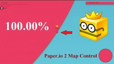 Paper.io 2 Map Control: 100.00% [Master]