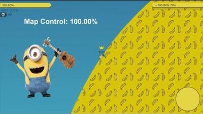 Paper.io 2 Map Control: 100.00% [Minion]