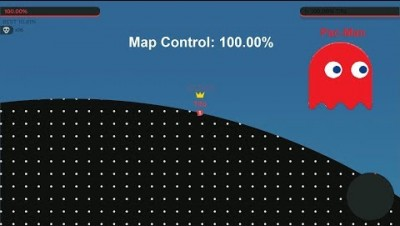Paper.io 2 Map Control: 100.00% [Pac-Man]