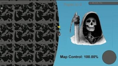 Paper.io 2 Map Control: 100.00% [Reaper]
