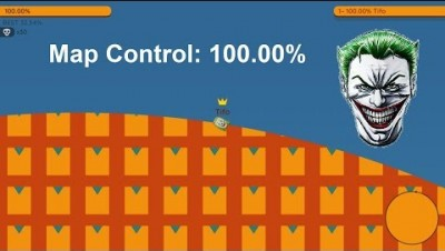 Paper.io 2 Map Control: 100.00% [Strong Joker]