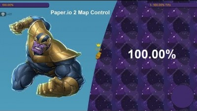 Paper.io 2 Map Control 100.00% [Thanos]
