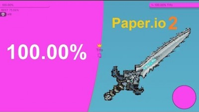 Paper.io 2 Map Control: 100.00% [War]