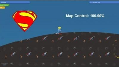 Paper.io 3 Map Control: 100.00%