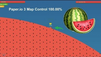 Paper.io 3 Map Control 100.00%