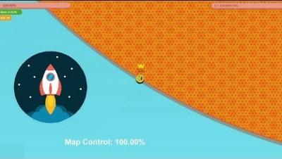 Paper.io 3 Map Control: 100.00% [Epic Kill]