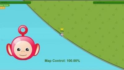 Paper.io 3 Map Control: 100.00% Epic [Teletubie]