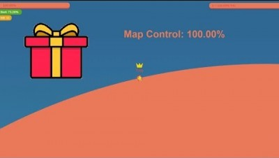 Paper.io 3 Map Control: 100.00% [Gift]