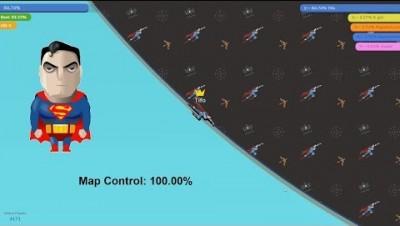 Paper.io 3 Map Control: 100.00% [€pic]