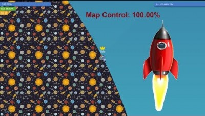 Paper.io 3 Map Control: 100.00% [Rocket]
