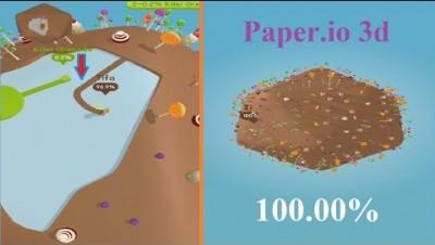 Paper.io 3d Map Control: 100.00% [Epic]