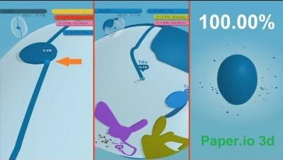 Paper.io 3d World Record [Heart]