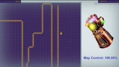 Paper.io Map Control: 100.00%
