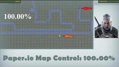 Paper.io Map Control: 100.00% [Epic]