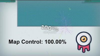 Paper.io Map Control: 100.00% [Eye]