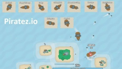 Piratez.io All Ships (New .io Game)