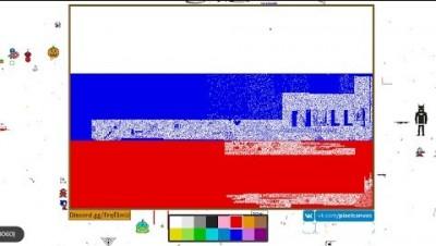 PixelCanvas.io - BANDEIRA DA RÚSSIA !!!!!!!!