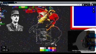 Pixelcanvas.io - Construction de Napoléon