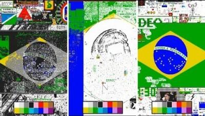 PixelCanvas io - Situação das três bandeiras