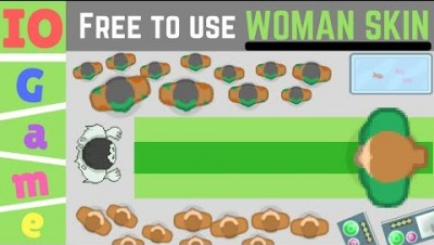 PLAY BRAAINS.IO ► Green Woman Skin / Braainsio 100% Free!! - braains.io game